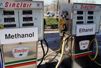 Methanol and ethanol pumps