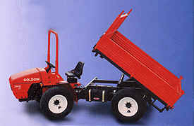Photo of Goldoni articulated tractor