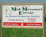 Mid-Missouri Energy sign