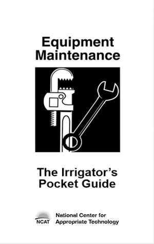 The Irrigator's Pocket Guide publication cover