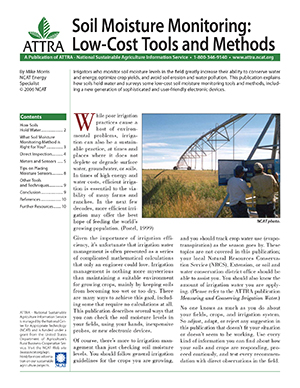 Soil Moisture Monitoring: Low-Cost Tools and Methods publication cover