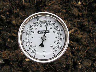 composted thermometer