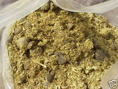 dry sheep manure
