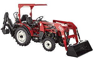 NorTract Tractor - front