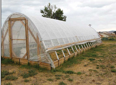 hoop house agriculture