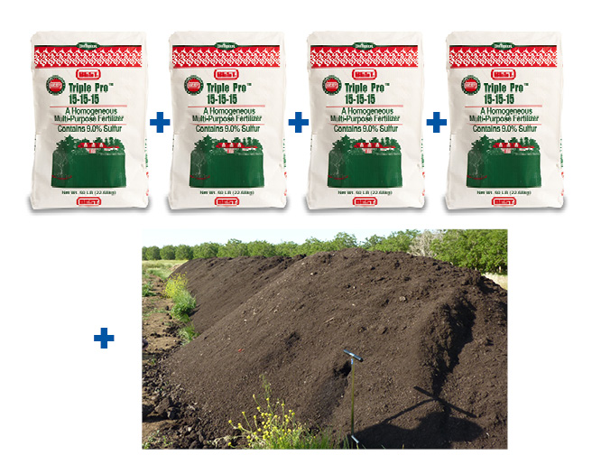 fertilizer plus compost graphic