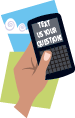 Text a question