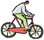 Bicycle illustration.