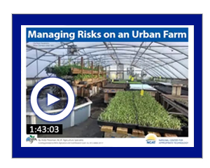 Managing Risks on an Urban Farm