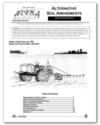 Alternative Soil Amendments