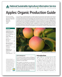 Apples: Organic Production Guide