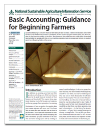 Basic Accounting: Guidance for Beginning Farmers