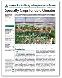 Specialty Crops for Cold Climates