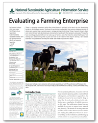 Evaluating a Farming Enterprise