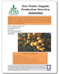 Tree Fruits: Organic Production Overview