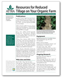 Resources for Reduced Tillage on Your Organic Farm