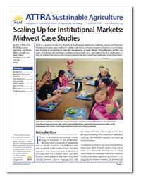 Scaling Up for Institutional Markets: Midwest Case Studies