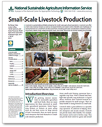 Small-Scale Livestock Production