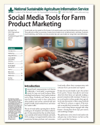 Social Media Tools for Farm Product Marketing