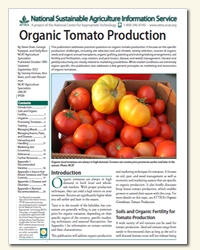 Organic Tomato Production