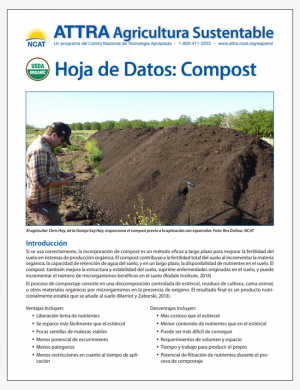 Hoja de Datos: Compost