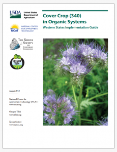 Cover Crop (340) in Organic Systems