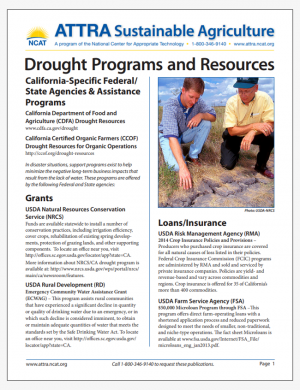 California Drought Programs and Resources