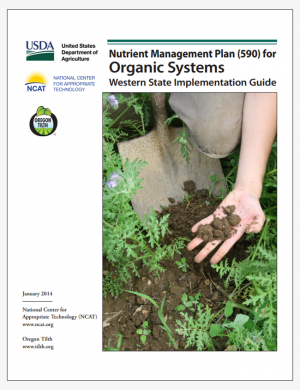 Nutrient Management Plan (590) for Organic Systems