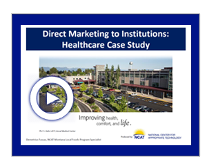 Direct Marketing to Institutions Video