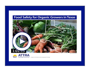 Food Safety for Organic Growers in Texas Video