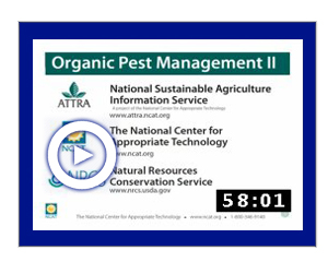 Pest Management for Organic Production Systems #2