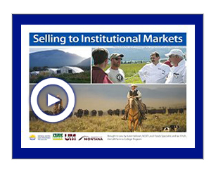 Selling to Institutional Markets Video