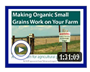 Small Grain Work Video