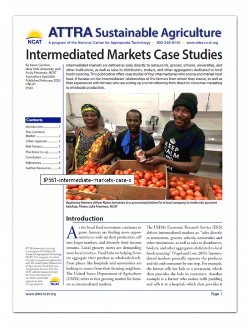 Intermediate Markets Case Study Cover Art