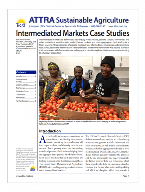 Intermediated Markets