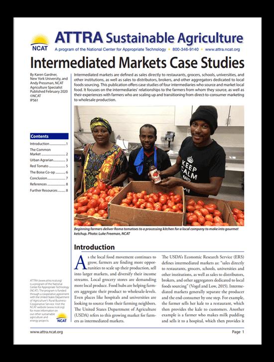 Intermediated Markets