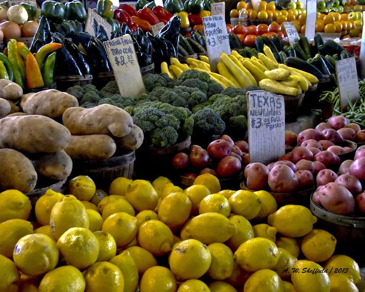 TX farmers market