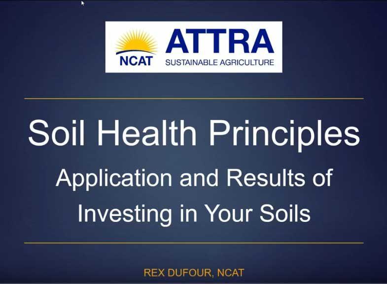 Soil Health Principles