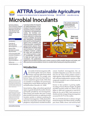 Microbial Inoculants Cover Page