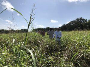 farm tour participants